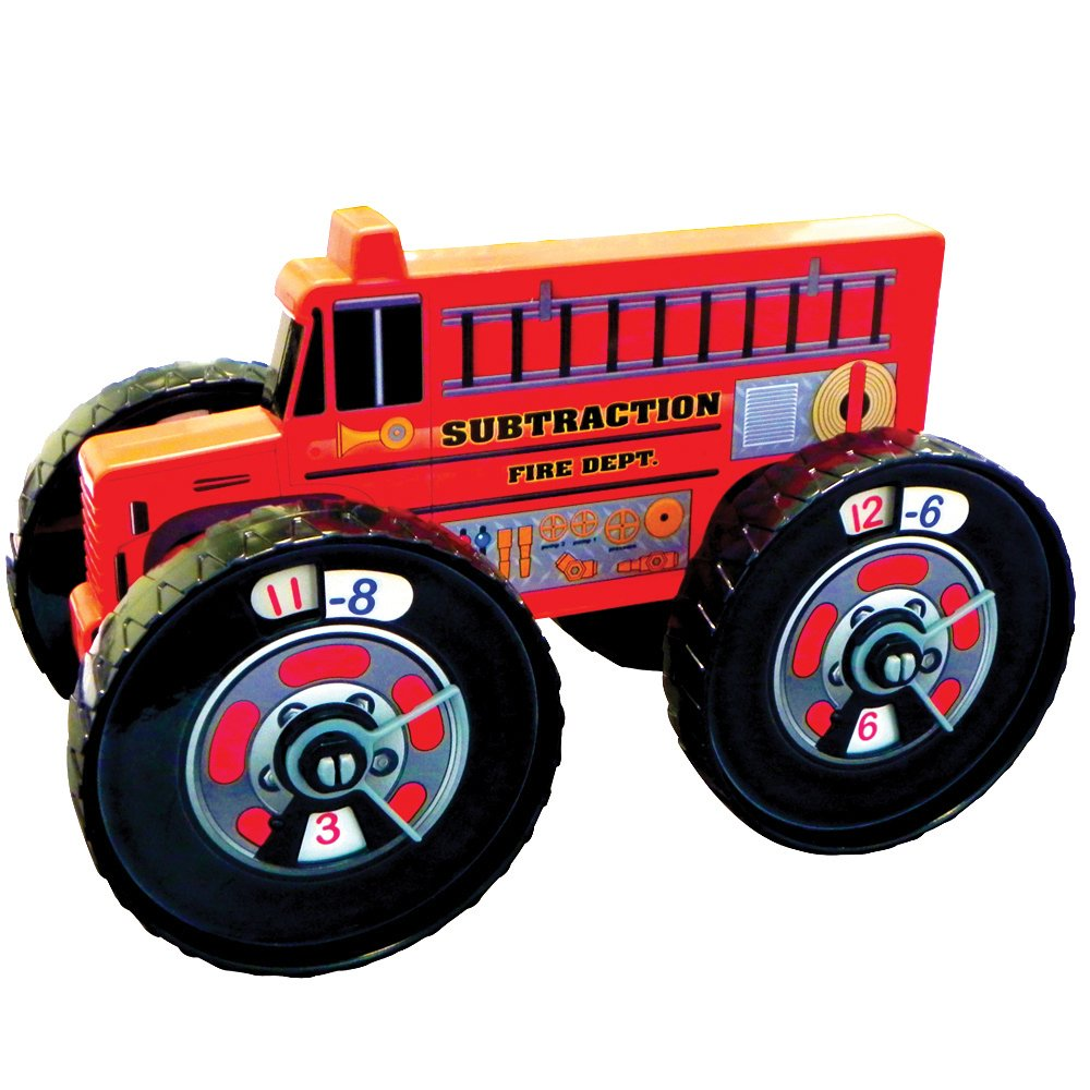 Junior Learning Subtraction Fire Truck Inc JL171