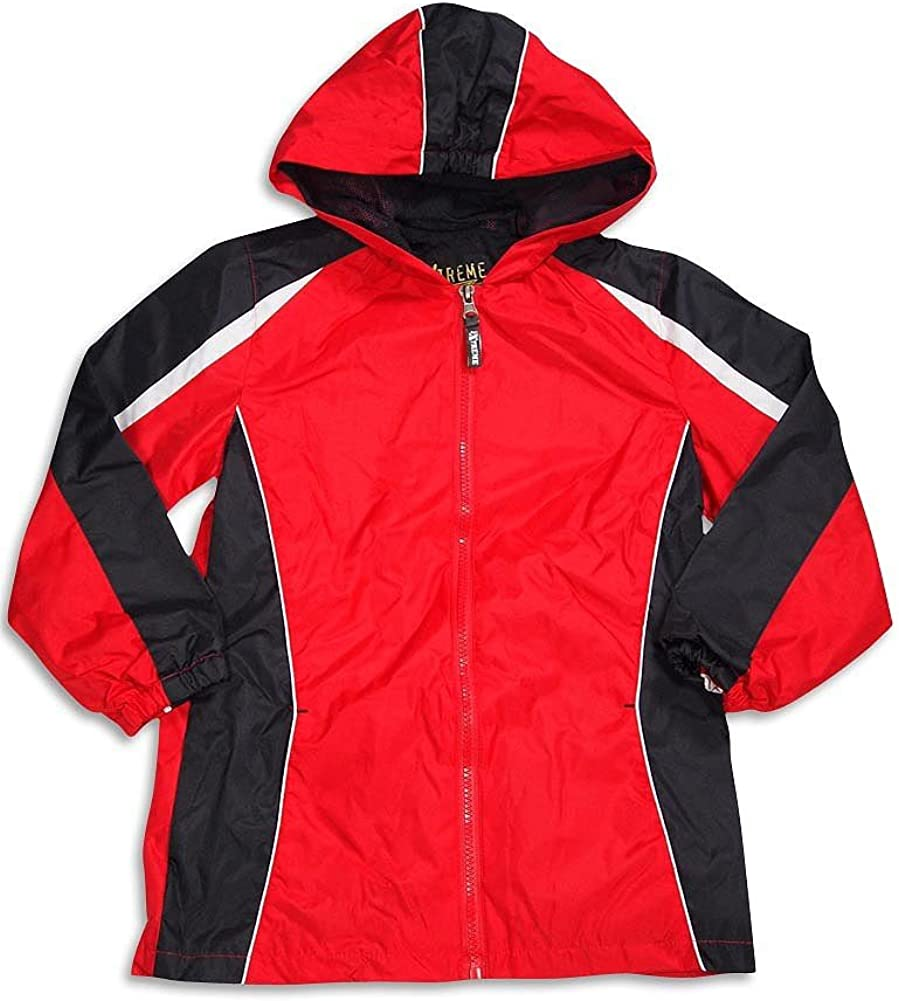 iXtreme Baby Boys Hooded Waterproof Rain Slicker Jacket