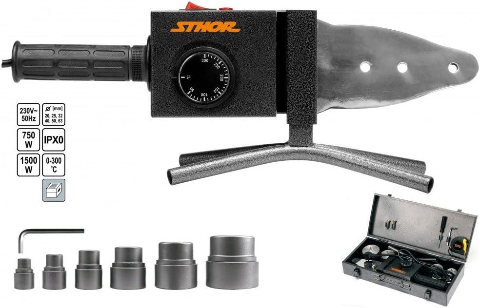 STHOR 78912 - pvc tubo de plástico soldador de 700W / 1500W / sthor /
