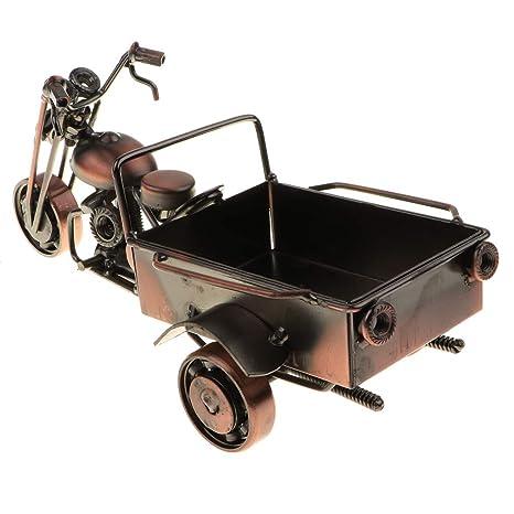 Homyl Modelo de Motocicleta/Tractor de Hierro Artesanal Arte de Escultura Coleccioable Adorno para Hogar