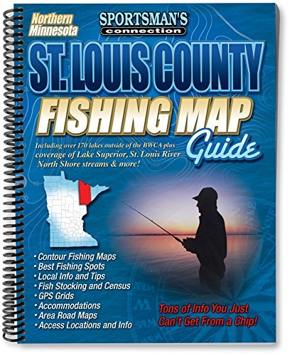 St. Louis County Fishing Map Guide (Fishing Maps from Sportsman's Connection) by Sportsman's Connection (2011-09-01)