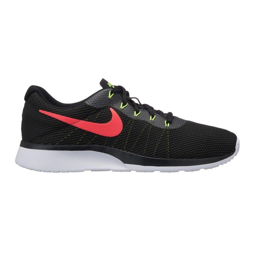 Nike Tanjun Racer, Zapatillas de Running para Hombre 40.5 EU|Multicolor (Black/Solar Red/Anthracite/Volt 010)