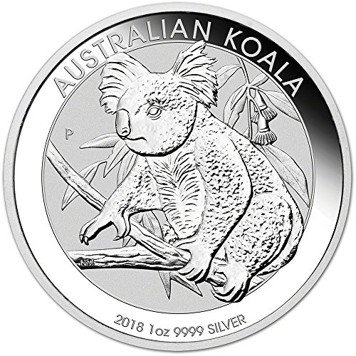 2018 AU Australia Silver Koala (1 oz) $1 Brilliant Uncirculated Perth Mint