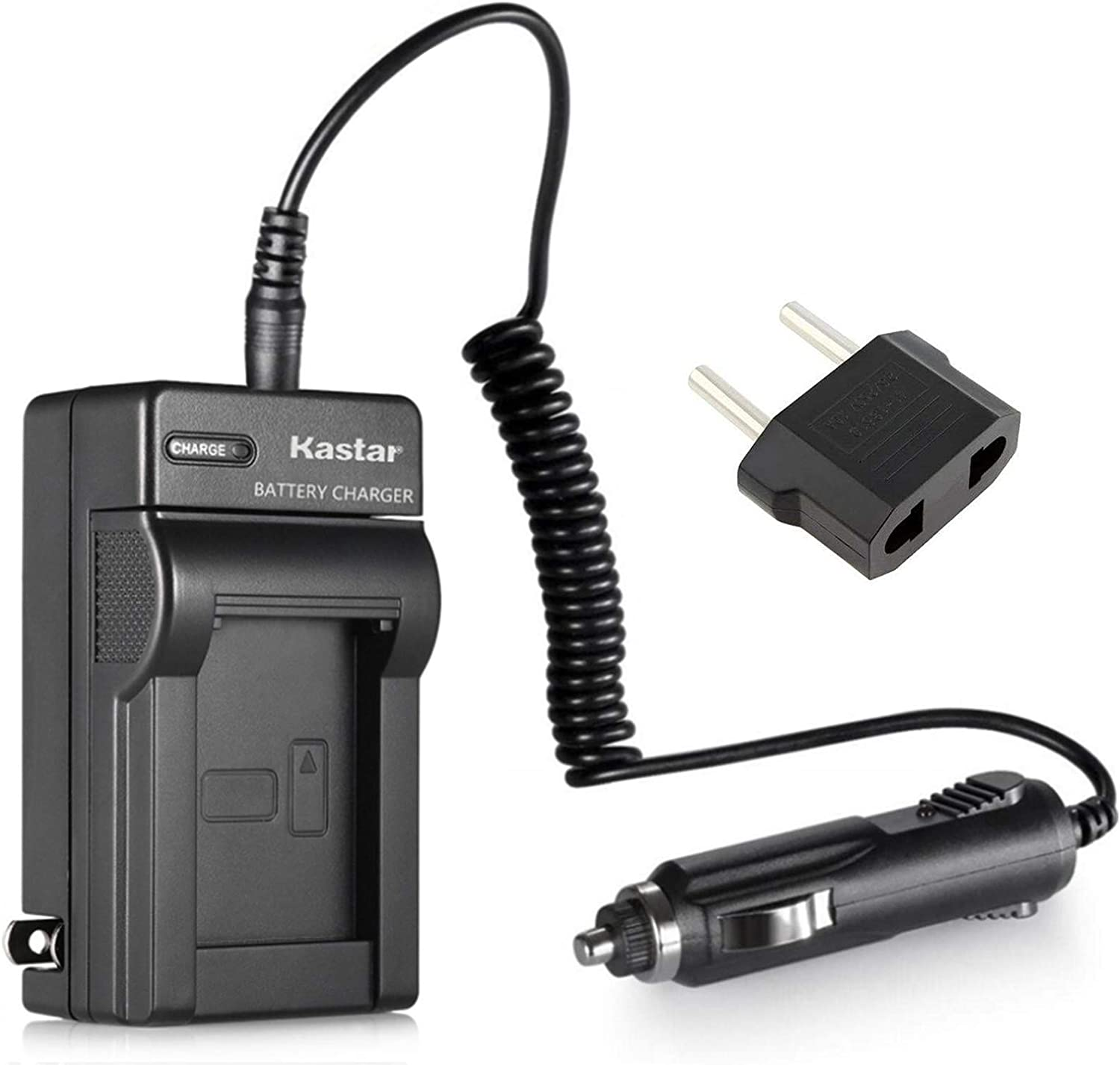 Kastar NP-FP50 FP70 Battery Charger for Sony Handycam DCR-HC21 DCR-HC22 DCR-HC23 DCR-HC24 DCR-HC26 DCR-HC30DCR-HC35 DCR-HC36 DCR-HC39 DCR-HC40 DCR-HC41 DCR-HC42 DCR-HC43 DCR-HC44 DCR-HC46 DCR-HC65