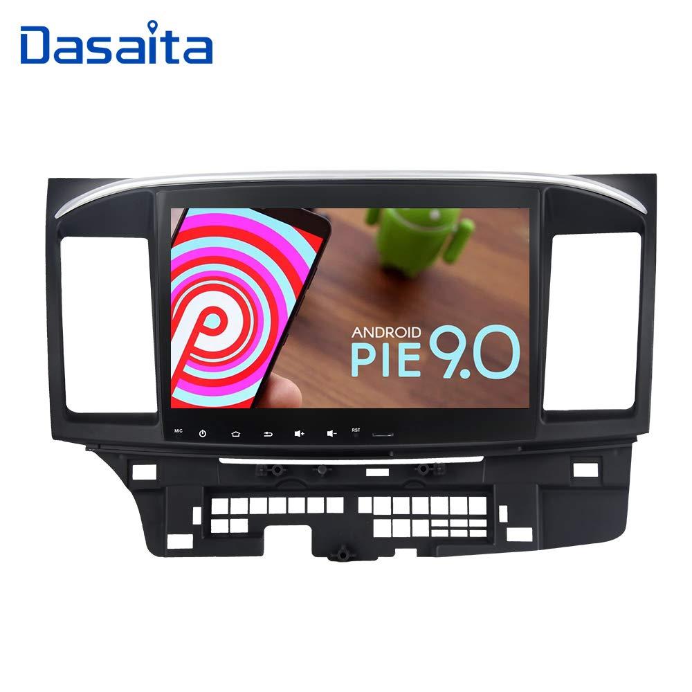 Dasaita 10 2 Inch Android 9 0 Car Stereo for Mitsubishi Lancer with Factory  Rockford System 2008 to 2017 GPS Navigation Radio