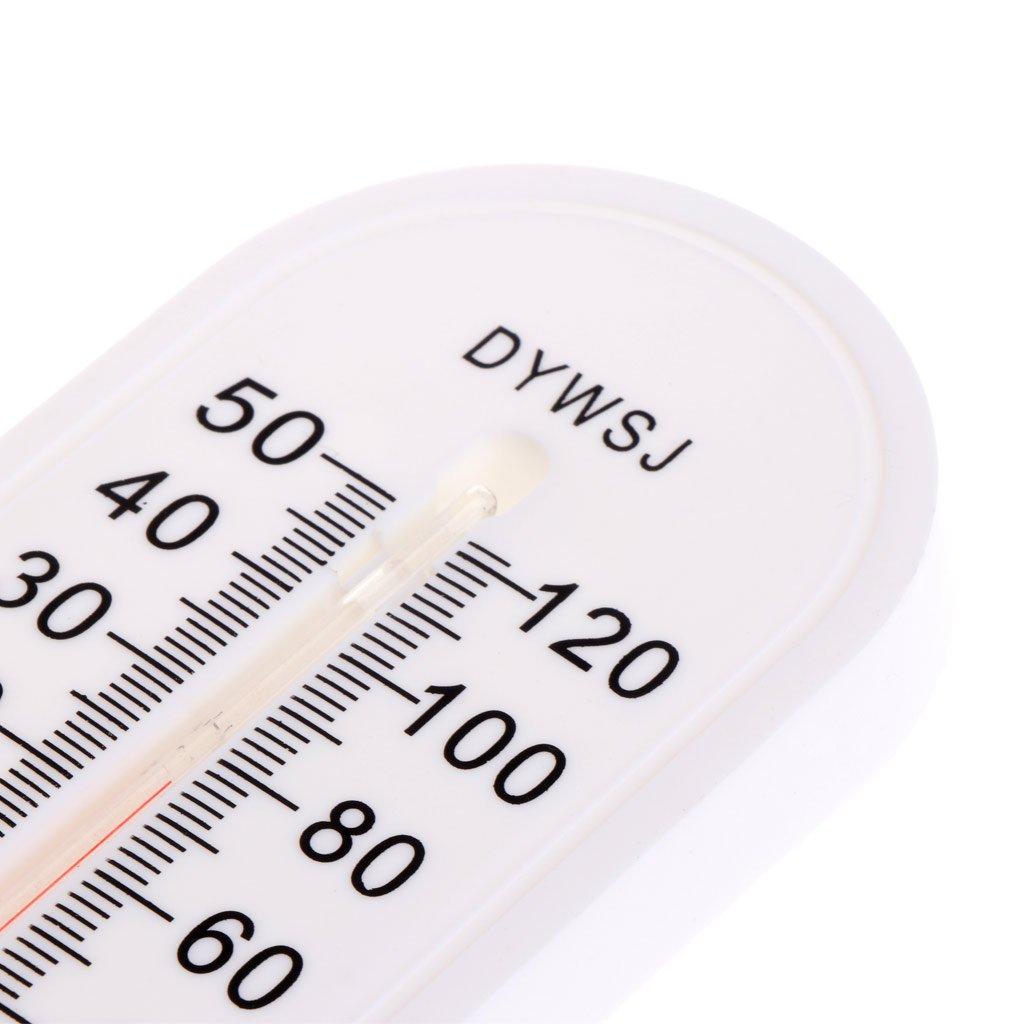 Besttse para Oficina o jard/ín Term/ómetro de Pared para Interiores y Exteriores