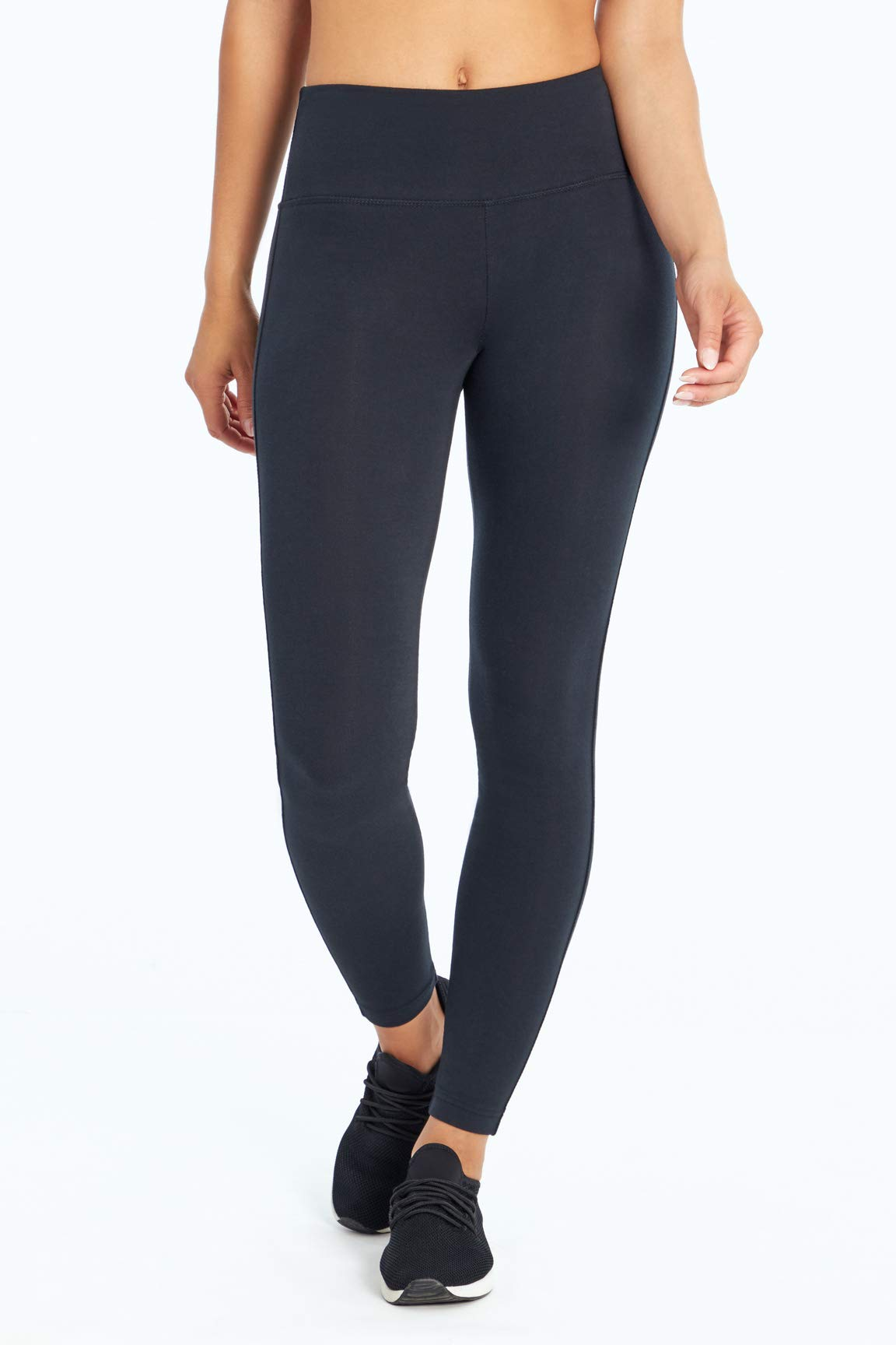 Marika Women's Standard Camille Butt Booster Leggings, Black, Small
