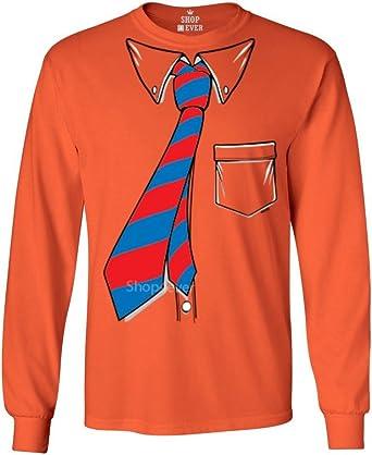 shop4ever ® Camisa y corbata Tuxedo esmoquin camisa de manga larga camisas XL naranja 12628: Amazon.es: Ropa y accesorios