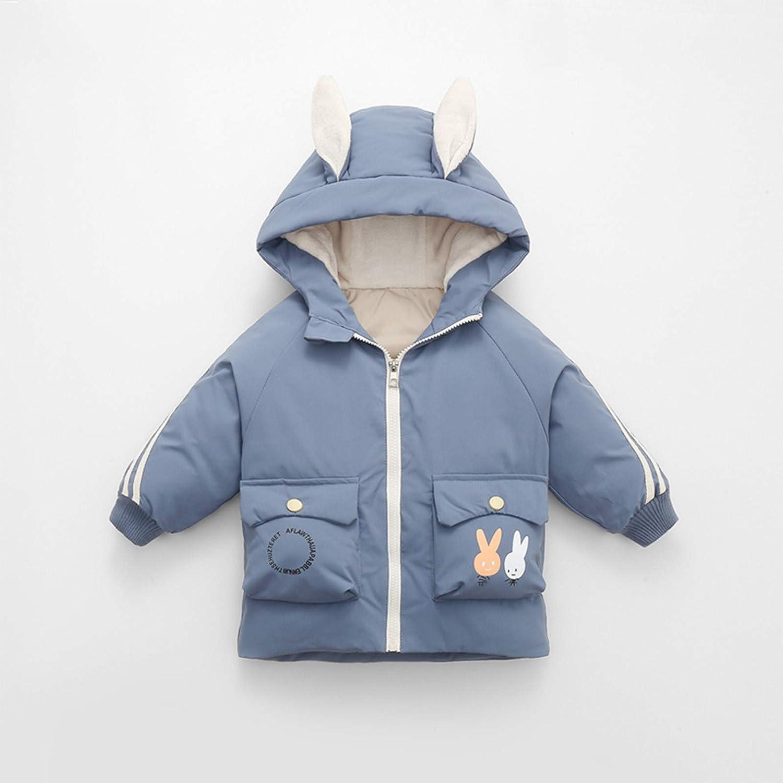 BAOSHU Cute Cartoon Ears Sleeveless Vest Coat Unisex Toddler Baby Hooded Warm Windproof Zipper Waistcoat Jackets Winter