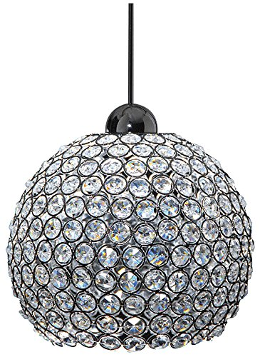 WAC Lighting QP-LED335-CL/CH Roxy Quick Connect LEDme Pendant with Clear Shade and Chrome Socket Set
