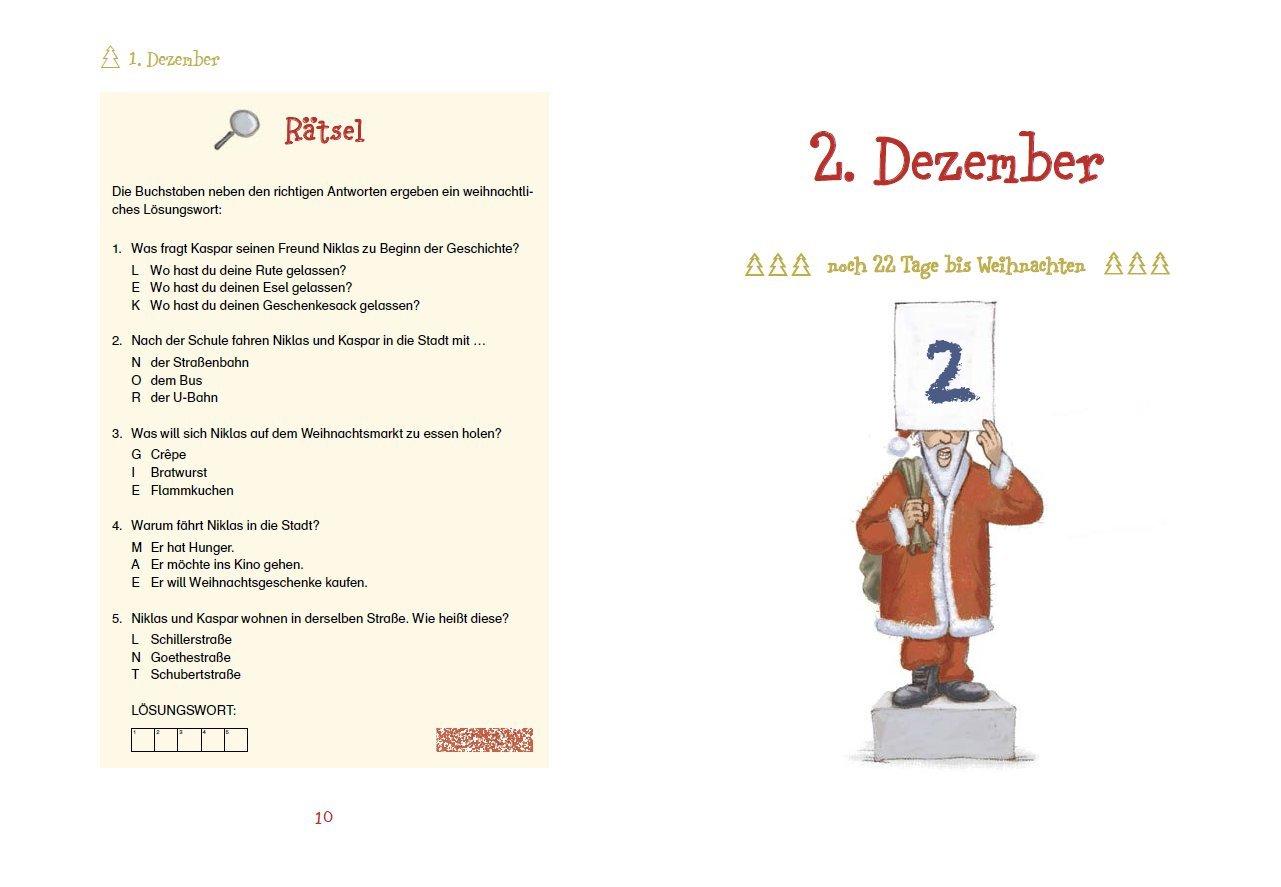 Advent, Advent, ein Gauner rennt: Krimi-Adventskalender-Buch: Amazon ...