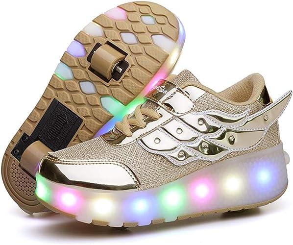 Nsasy Roller Shoes Unisex LED Light up