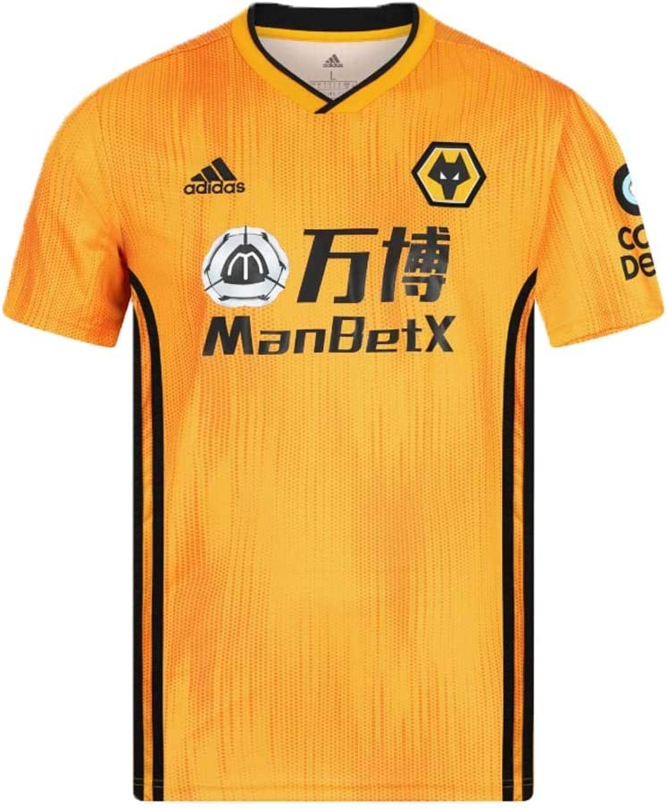 2019-2020 Wolves Home Football Soccer T-Shirt Camiseta (Adama Traore 37): Amazon.es: Deportes y aire libre