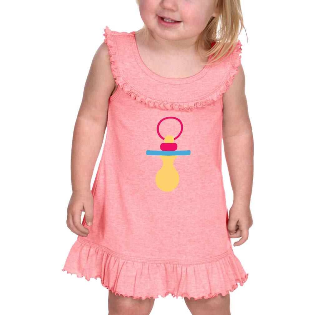 Amazon.com: Bonito chupete para bebé, cuello sellado ...