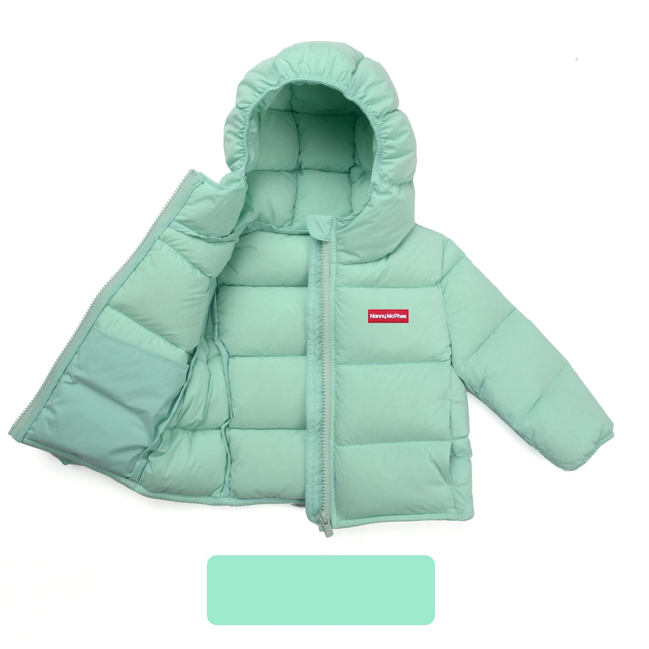 Nanny McPhee Kids Down Coat Unisex Baby Hooded Lightweight Down Puffer Jacket Outwear (More Styles Available) by Nanny McPhee