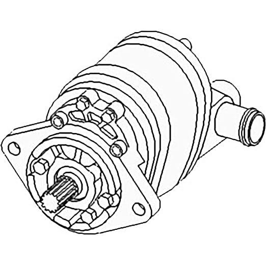 Amazon Com New Hydraulic Pump 70249469 Fits Ac 180 185 Industrial