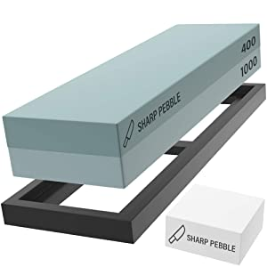 Sharp Pebble Premium Whetstone Sharpening Stone 2 Review