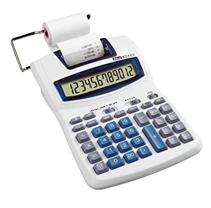 Ibico IB410031 - Calculadora impresora, 12 dígitos: Amazon ...