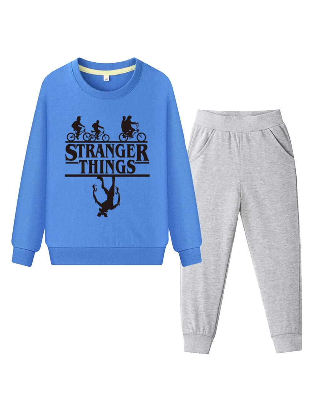 KIACIYA Stranger Things Conjuntos Niña Y Niños Chándal Stranger ...