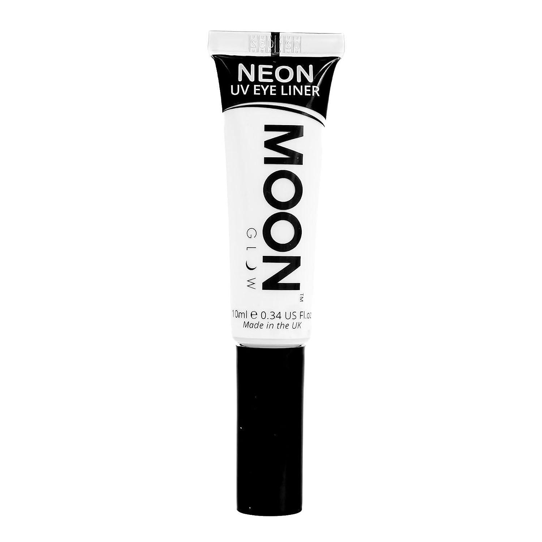 Moon Glow - Eyeliner per la luce Neon UV10mlBianco –produce un'incredibile brillantezza sotto l'illuminazione UV/luci scure