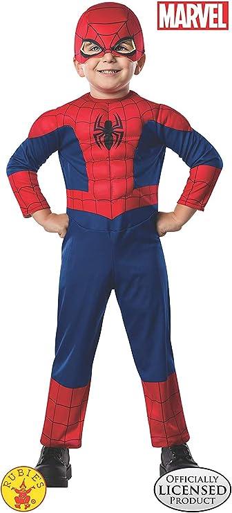 Costume Ultimate Spiderman per Bambini Rubies IT620686-S S