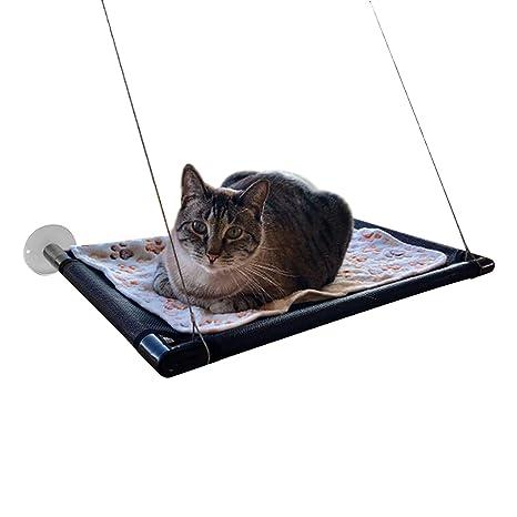 Camas para Ventanas con Ventosa - Cama Hamaca para Gato Estantes de Seguridad para Asientos de