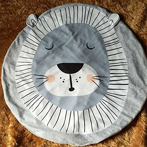 Diy Lion Costume Toddler (Kids Crawling Pad Game Swaddle Rug, Soft Cozy Thermal Warm Cotton Throw Blanket for Children Playing or Reading (Lion))