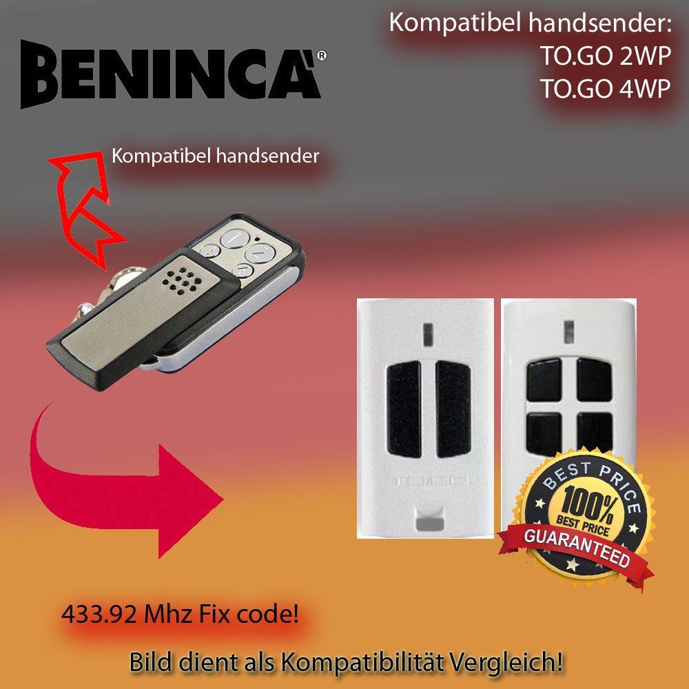 BENINCA TO. GO 2 WP/to. GO 4 WP compatible é metteur manuel de rechange, klone