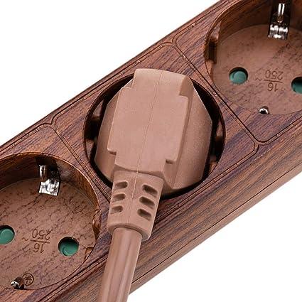 Cablematic Fr Steckdosenleiste 6 Fach 16 A 230 V Elektronik