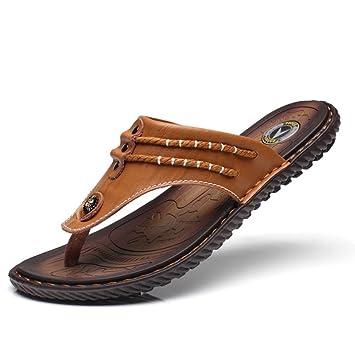 Sandals Strand Sommer Mann Flip Flops Bequeme Orthetische 41