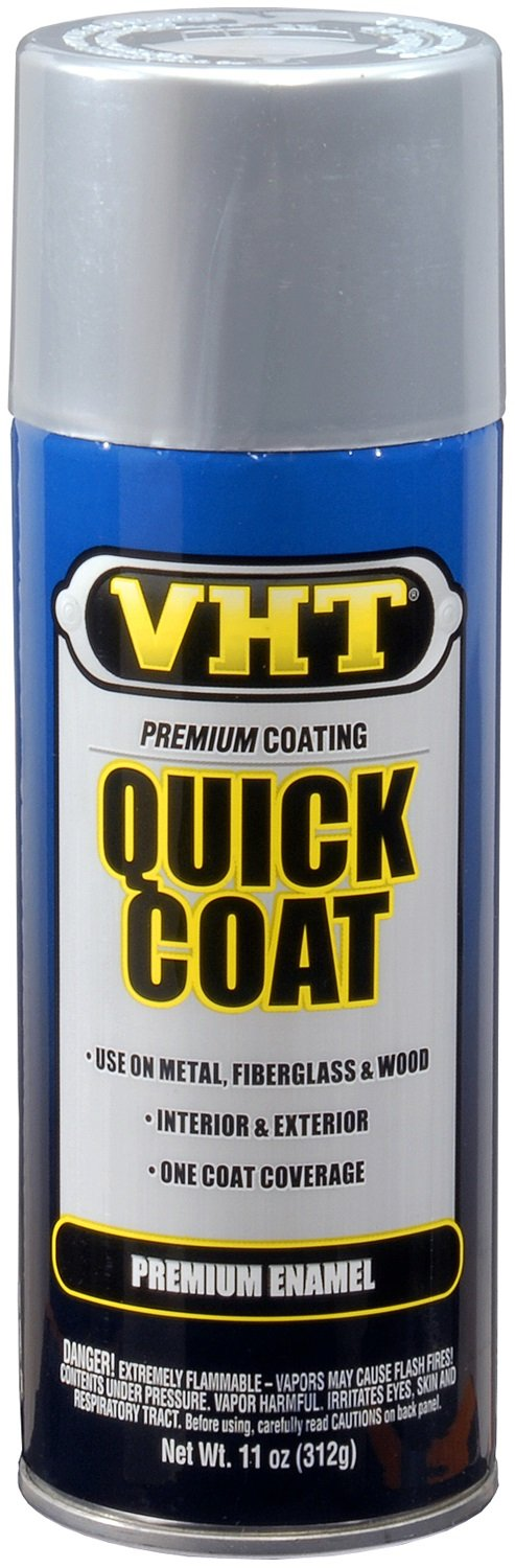 VHT Quick Coat Silver Chrome Acrylic Enamel Can}