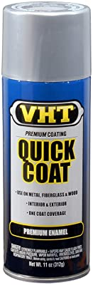 VHT SP525 Quick Coat Silver Chrome Acrylic Enamel Can