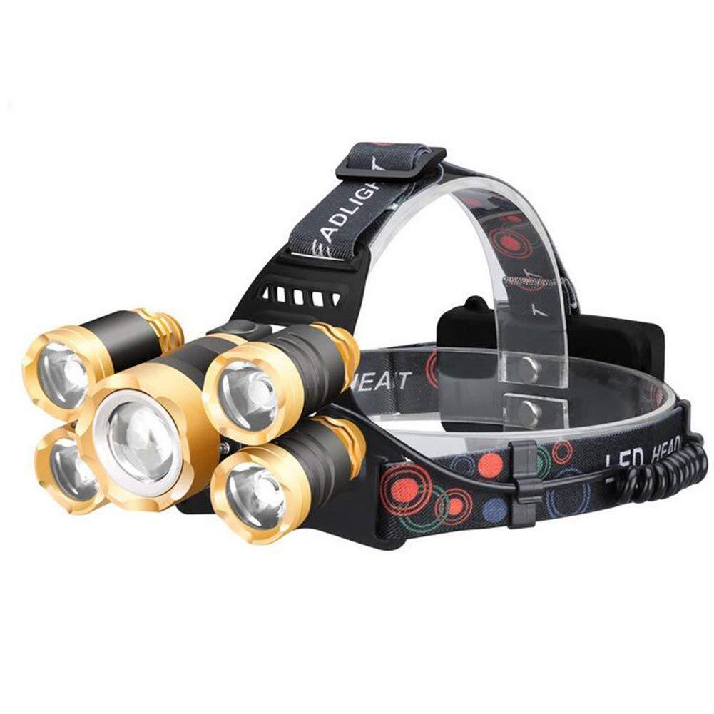 KLSHW Headlights - T6 Outdoor Lighting, Strong Headlights, Searchlights, 5 Night Fishing
