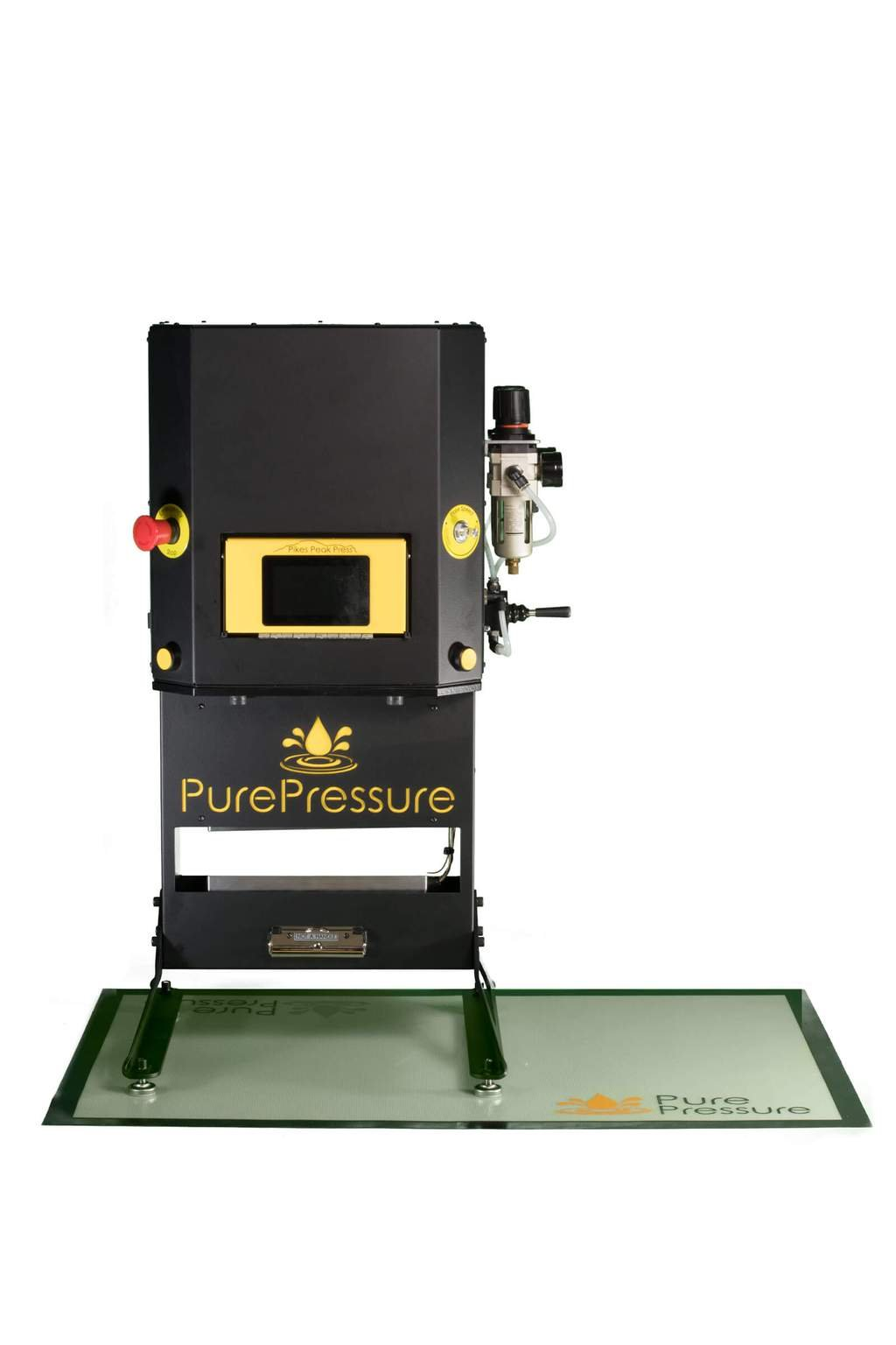 PurePressure Pure Pressure Large XL Silicone Dab Mat Wax Carving Baking Non Stick - Custom Logos and Colors! by PurePressure (Image #3)