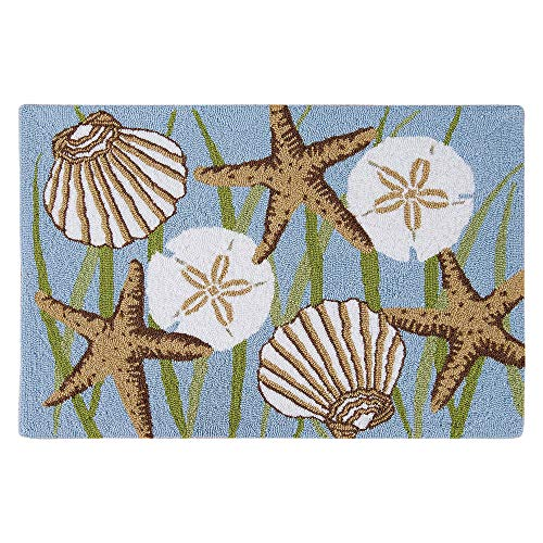 - Seagrass & Shells Washable Rug