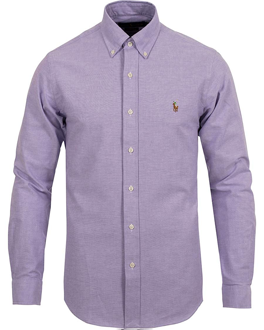 bcac539f2a5f57 Polo Ralph Lauren Chemises Button Down Tessuto oxfod Classic Fit ...