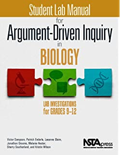 Amazon biology inquiries standards based labs assessments student lab manual for argument driven inquiry in biology lab investigations for grades 9 fandeluxe Images