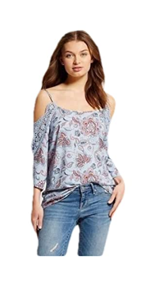 72550683c41333 Xhilaration Women s Cold Shoulder Shirts