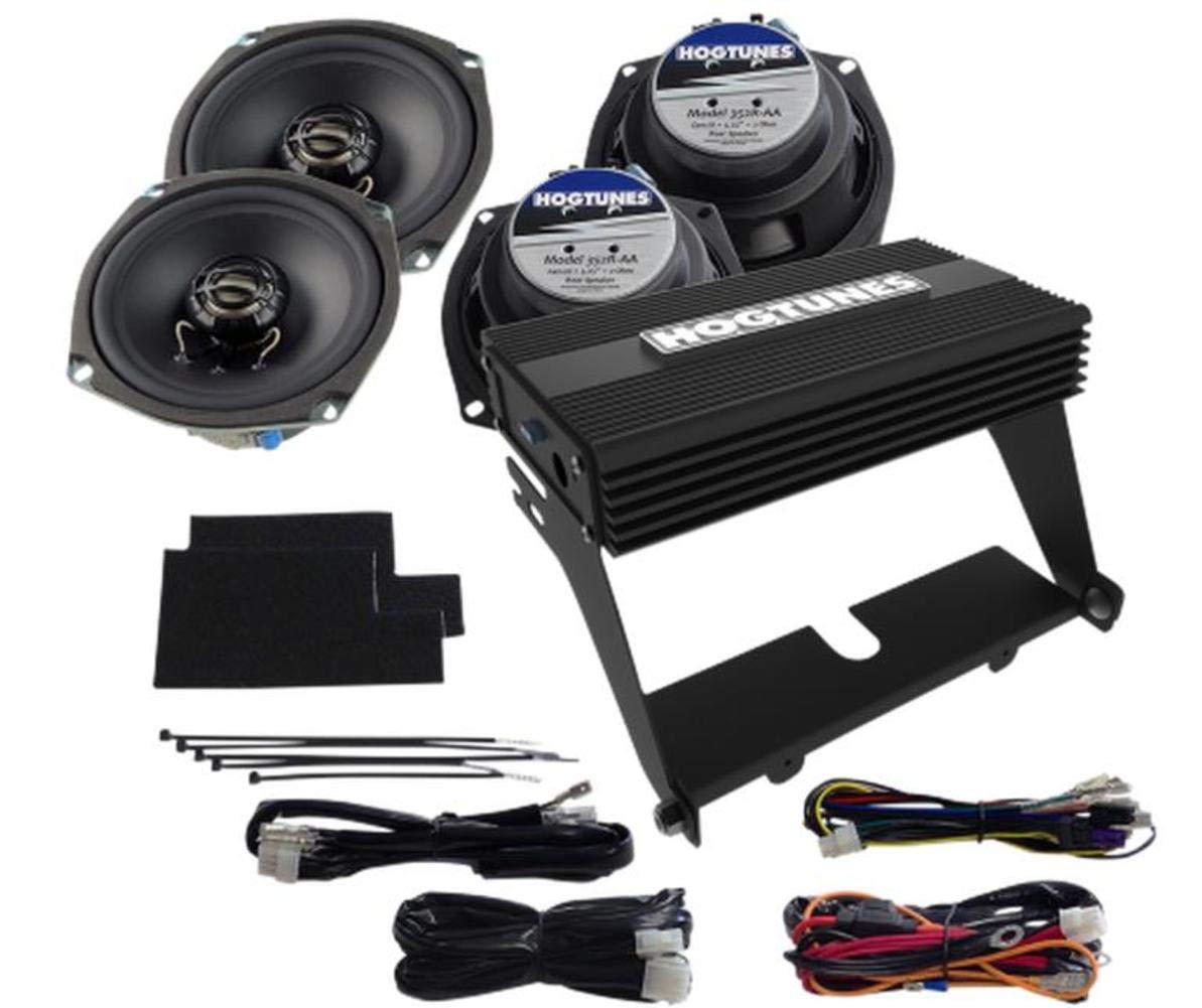 4 Channel//200 watts Hogtunes Amplifier /& Speaker Kit 07-13 HARLEY FLHTCU
