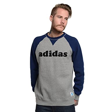 low priced 53102 601ed adidas Men's Originals X NIGO Raglan Crew Neck Sweatshirt ...