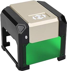 WAINLUX K4 Laser Engraver, Compact Laser Engraving Machine, Support Win, MAC Connection, 3000mW Small Desktop Laser Marking Machine, Laser Etching Range 3.15