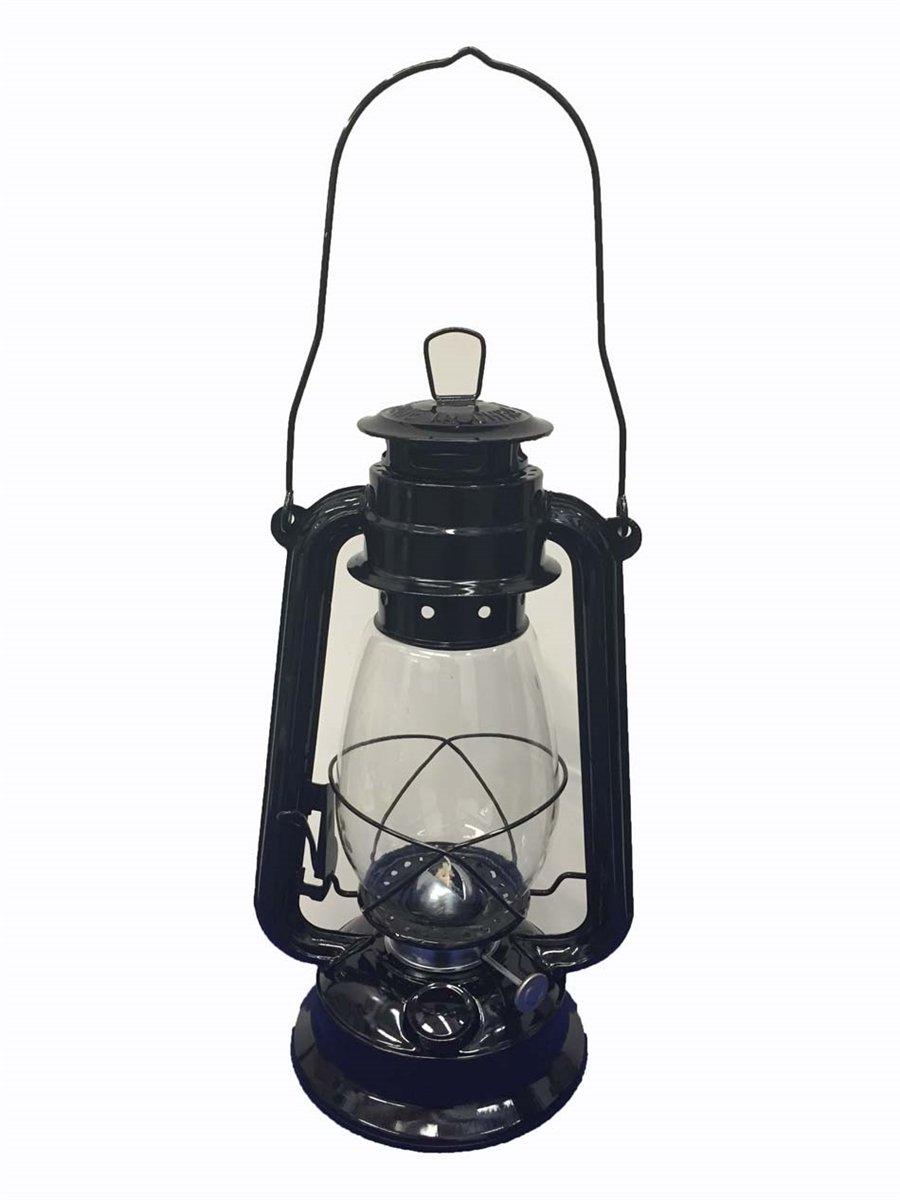 Shop4Omni Black Hurricane Kerosene Lantern Wedding Hanging Light Camping Lamp - 12'' (1)