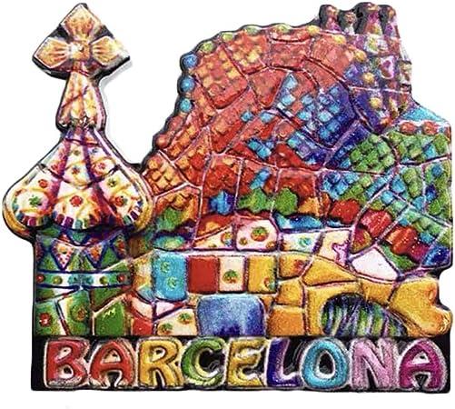 Barcellona Spagna 3D frigorifero magnete souvenir collezione casa e cucina decorazione magnete magnete frigorifero