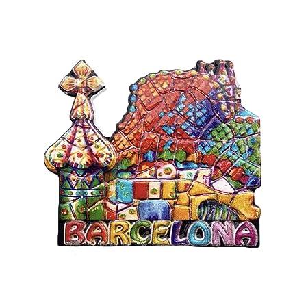 3D Gaudi Apartment Barcelona España Refrigerador Imán de Nevera ...