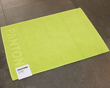Tappeto bagno pantone by bassetti wild lime verde cm x