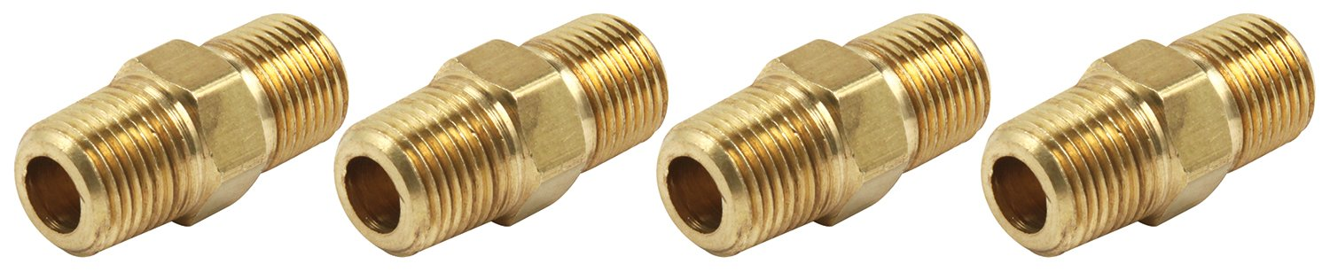 Allstar ALL50184 1/8 NPT Male Union Brake Line Adapter Fitting, (Pack of 4) Allstar Performance