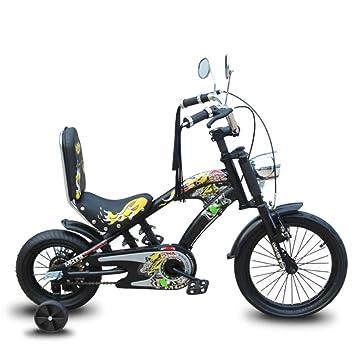 YQ Bicicleta Infantil De 12 Pulgadas Ajustable 2.5-5 Años De ...