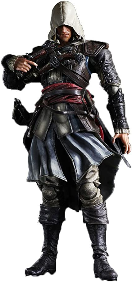 Amazon Com Square Enix Play Arts Kai Edward Kenway Assassin S