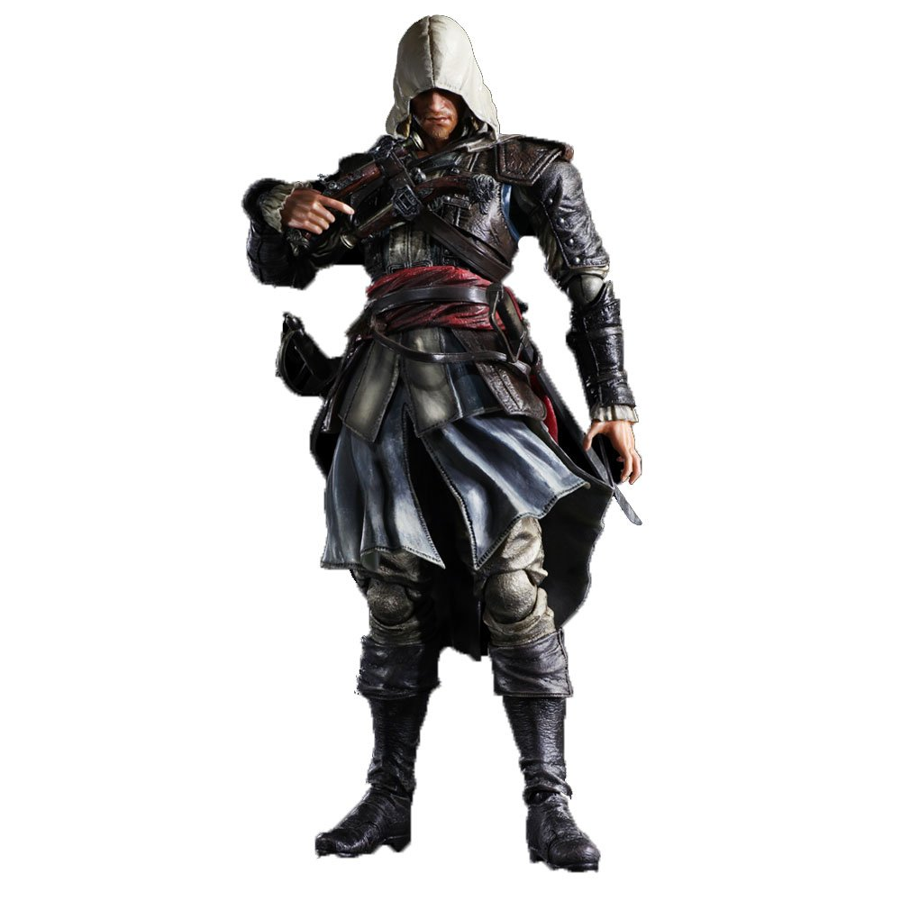 Assassins Creed IV PLAY ARTS KAI Edward Kenway Action Figur