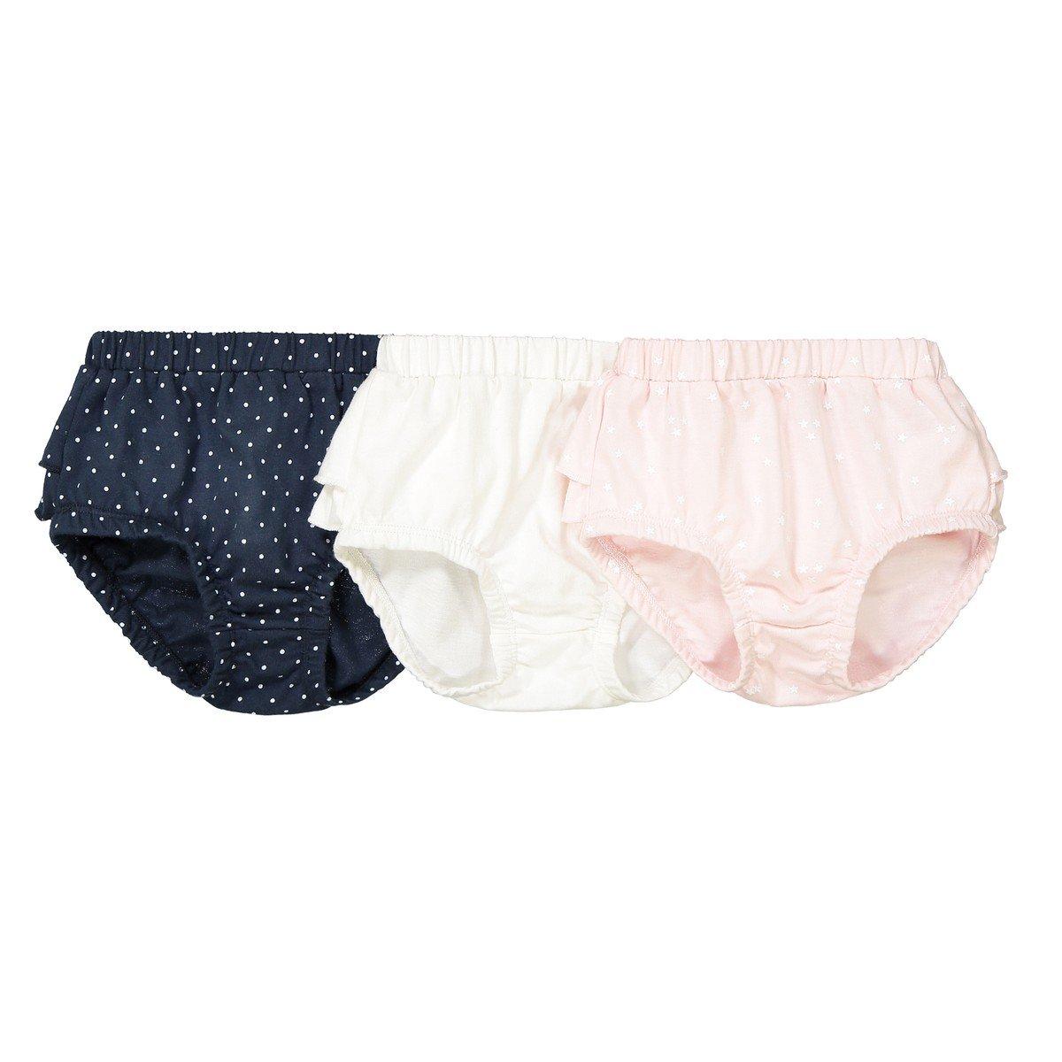 La Redoute Collections Bambina Confezione da 3 Culotte con Volant 6486601-000-7169752-00003-1